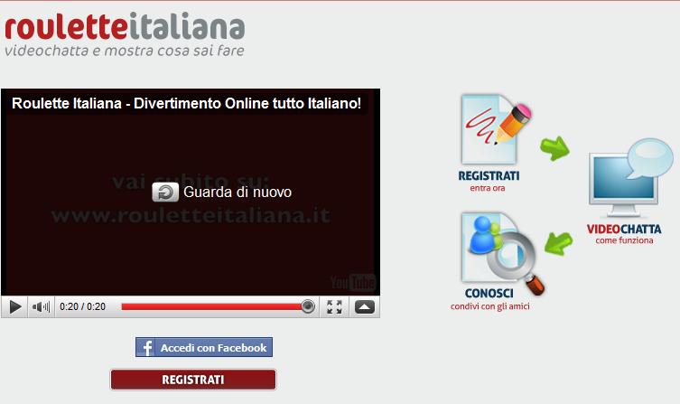 chat gratuita e senza registrazione italian chatroulette