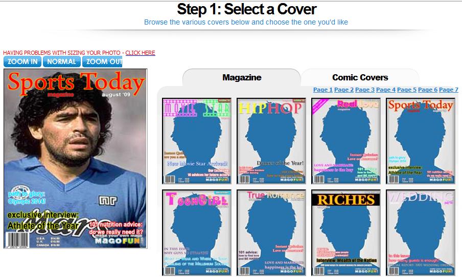 Magofun creare finte copertine di giornali e riviste for Riviste arredamento on line gratis