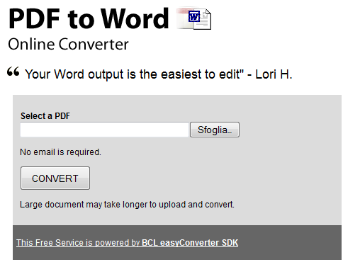 pdf to word doc online