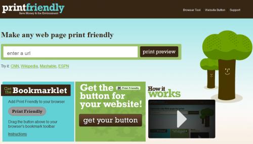 print friendly,applicazione per stampare pagine internet e risparmiare,come stampare pagine internet risparmiando carta e inchiostro,risparmiare carta e inchiostro durante una stampa di una pagina