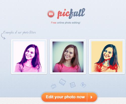 Picfull applicare tanti effetti speciali alle foto for Effetti foto online
