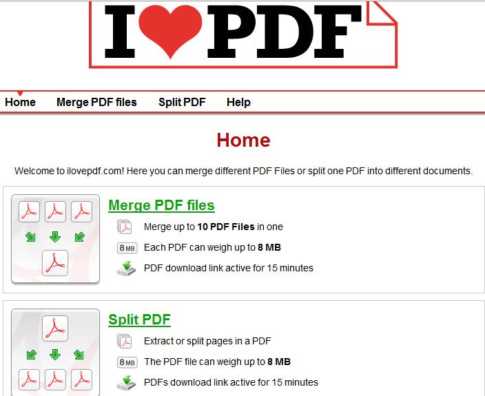 MERGE PDF ONLINE GRATIS